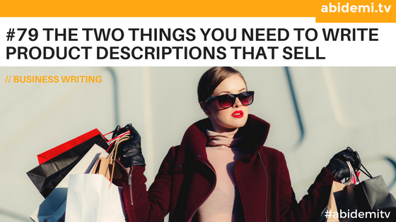 How to write product descriptions that sell + free product description template