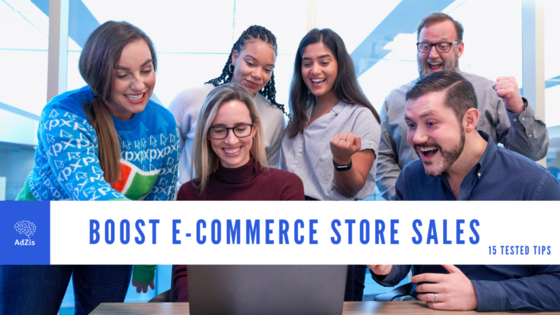 Boost the Sales of Ecommerce Store
