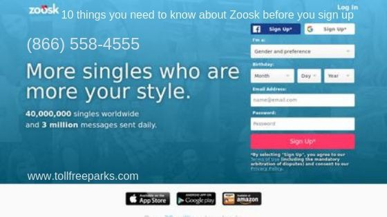 Sign up for zoosk dating
