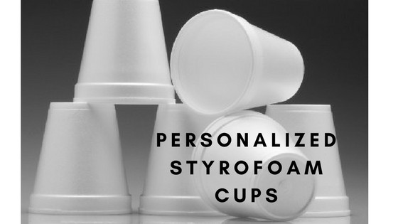 Get Custom Styrofoam Cups with Logo Wholesale at Leading