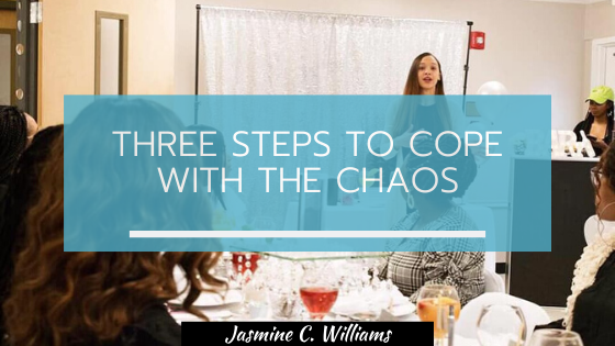 Three steps to cope with the chaos graphic