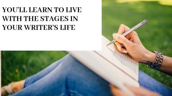 stages in a writer's life