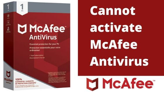 how do i install mcafee with a product key