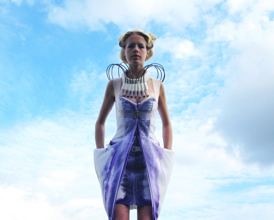 Anouk Wipprecht, a Dutch designer that uses 3D printing in her designs.