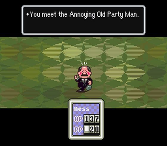 annoying old man earthbound monster