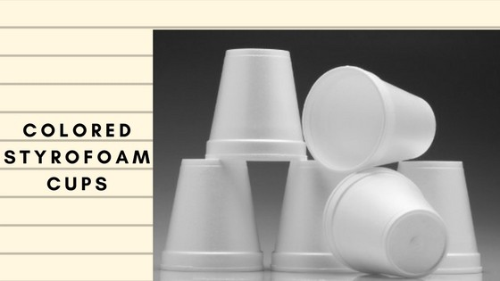Custom Made Styrofoam Cups with Logo Wholesale Price at
