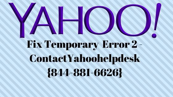 Fix Yahoo temporary Error 2