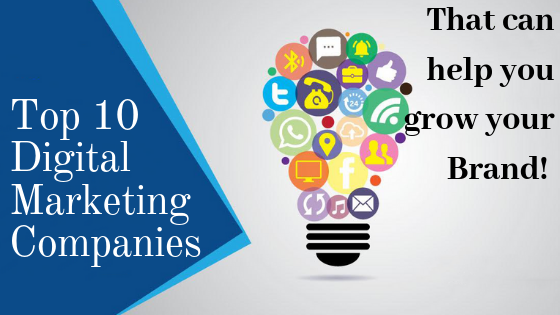 Top 10 Digital Marketing Companies and SEO Agencies USA