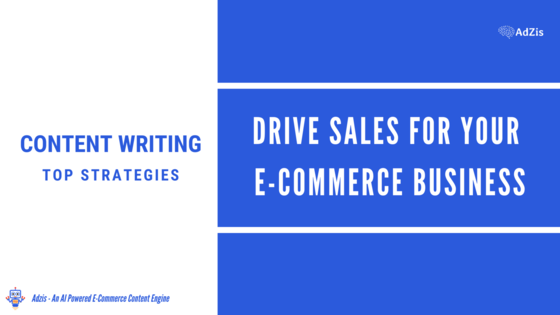 Drive Sales for Online Business