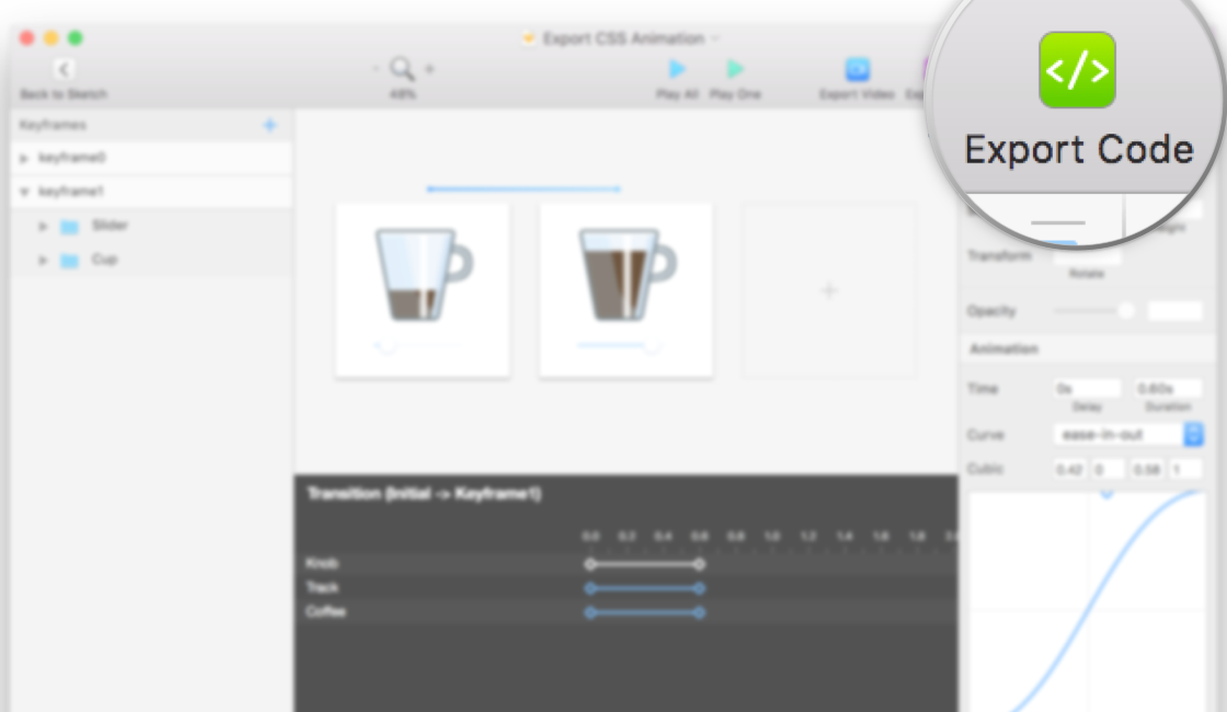 How to Export Sketch to CSS Animations Code - Design +