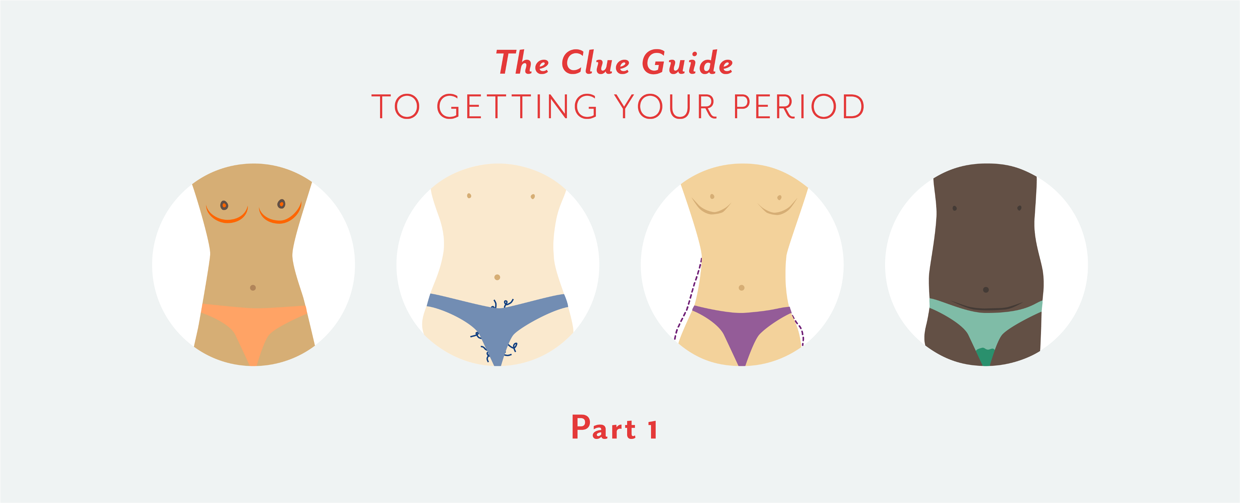 Part 1: The Clue guide to getting your period - Clued In