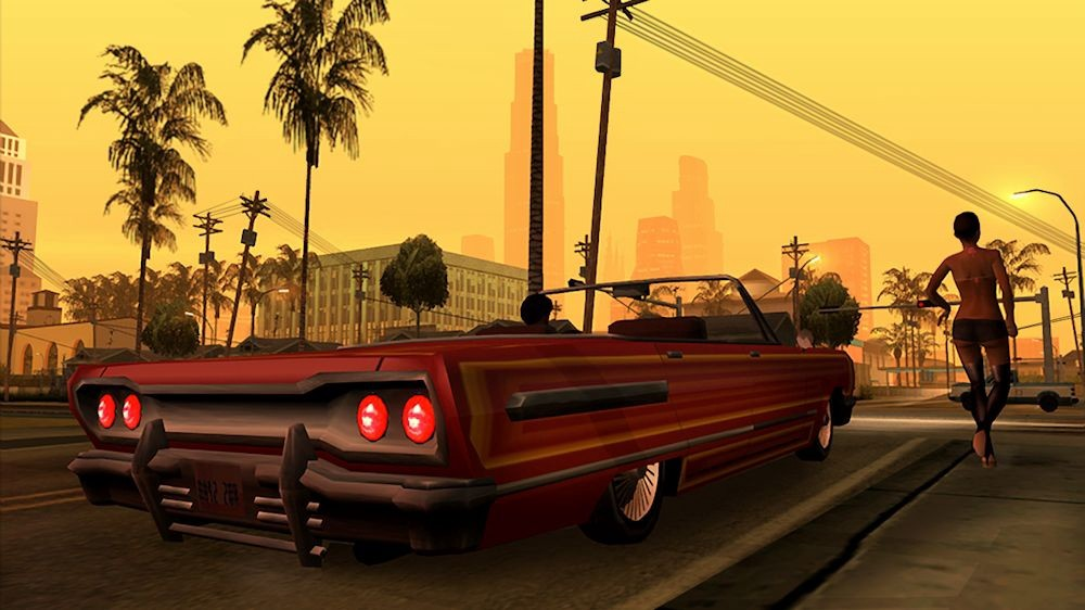 An ode to the music of Grand Theft Auto: San Andreas