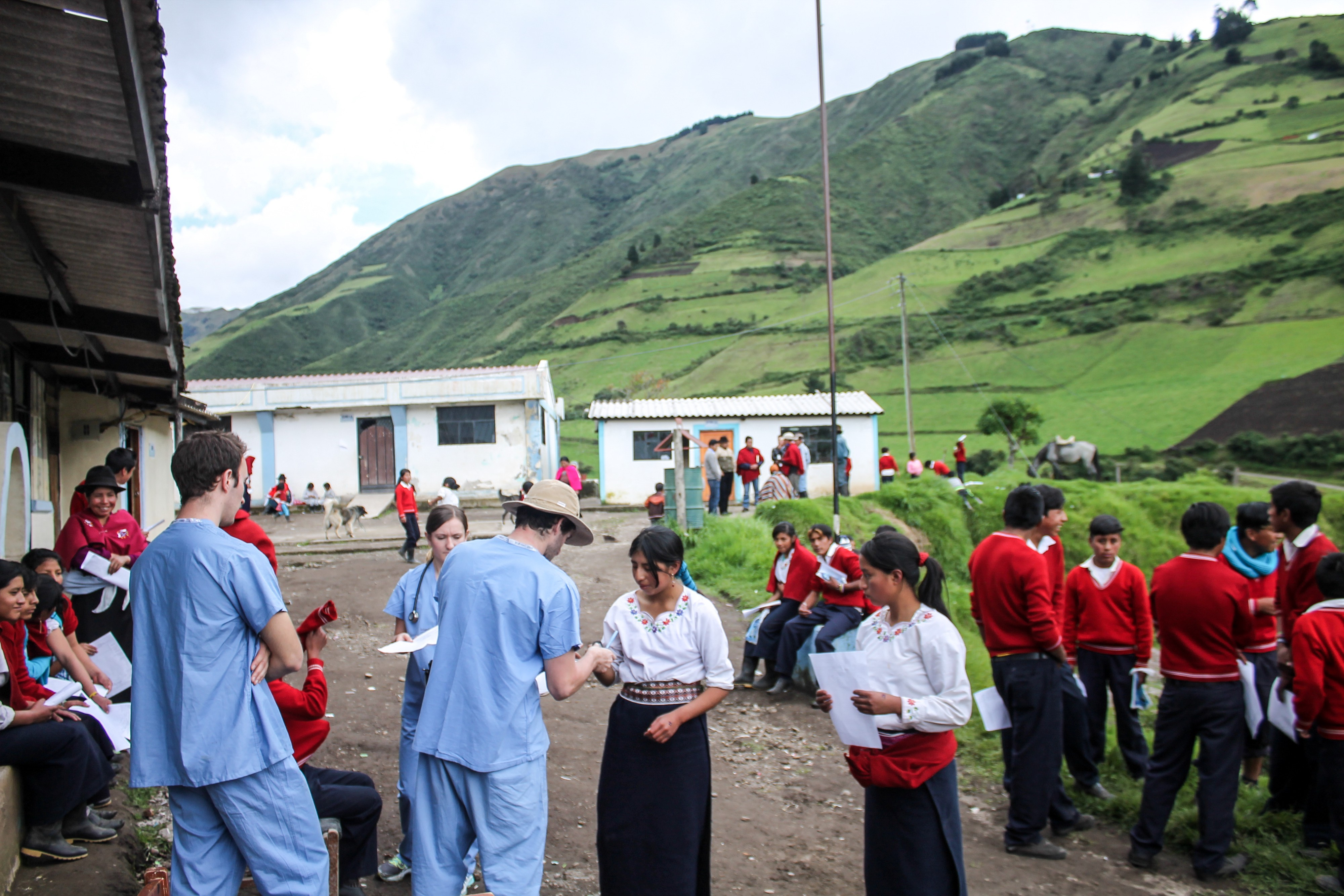 Reflections From Ecuador - Stories from Temple's Narrative