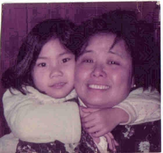 little me and ma (RIP)