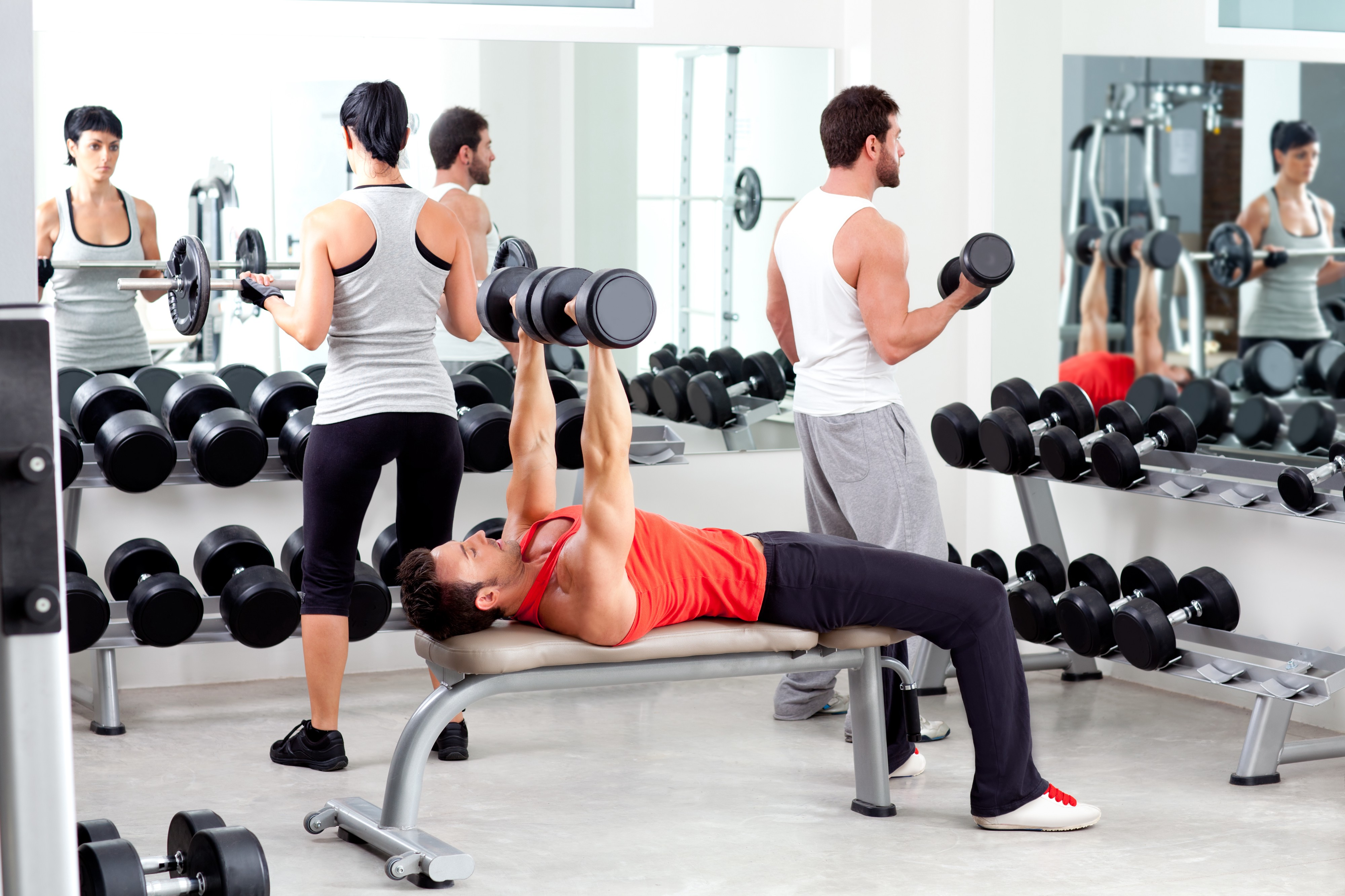 WORKOUTS FOR GYM BEGINNERS. Everyone has to start somewhere and… | by Swati Khandelwal | Medium
