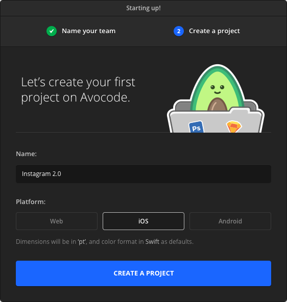 Avocode now supports iOS, Android & React Native app development