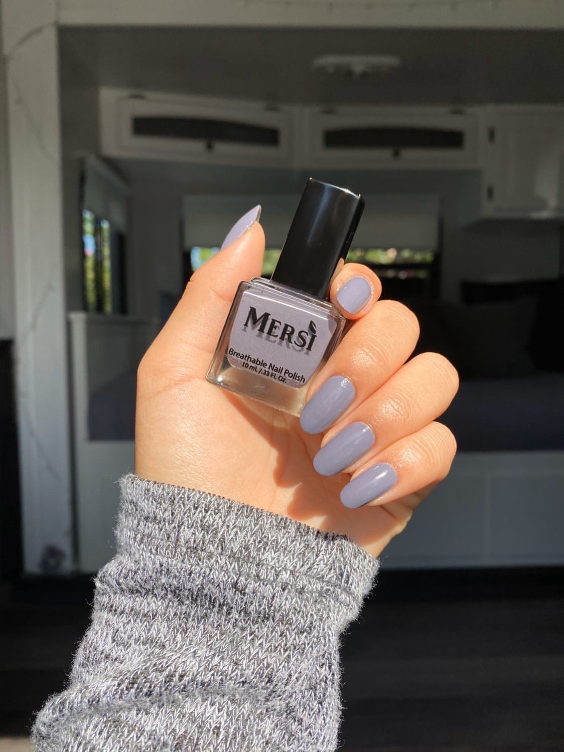 Northern Lights Breathable Nail Polish by Mersi Cosmetics