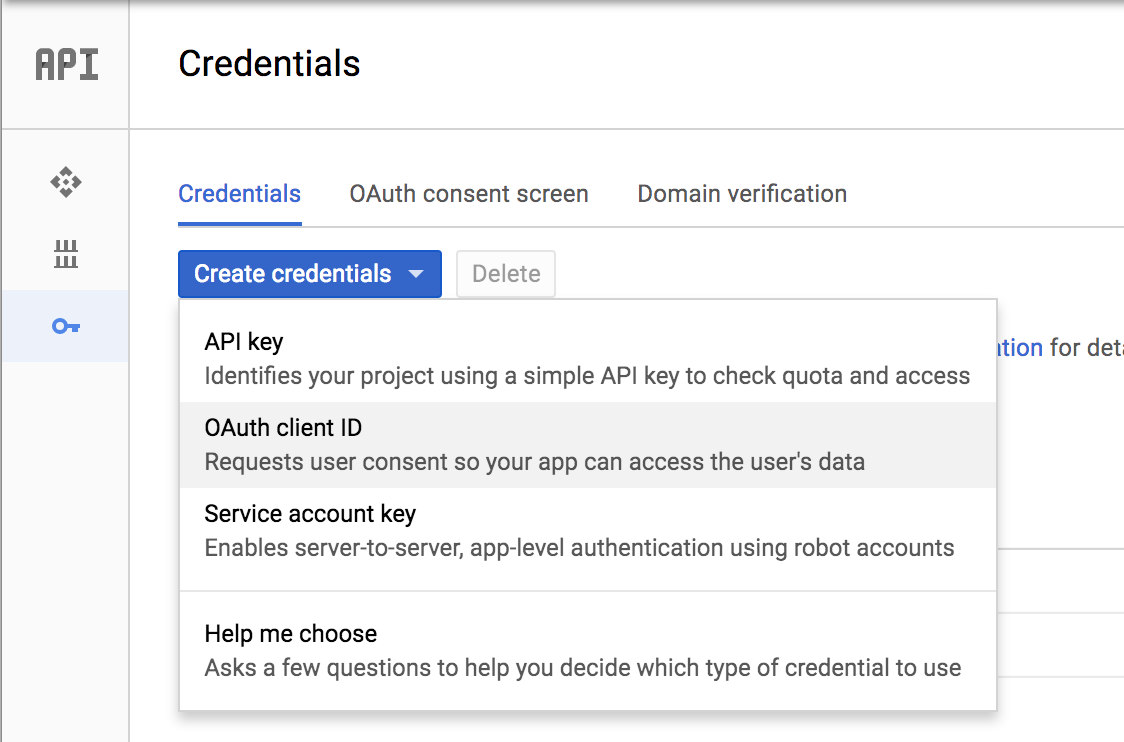 Implement social authentication with React + RESTful API