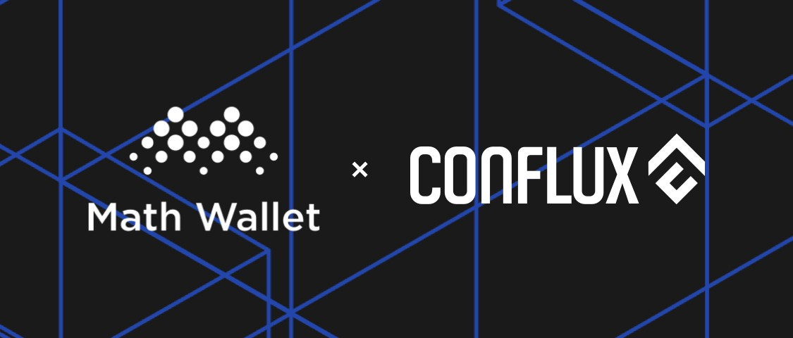 MathWallet supports Conflux now