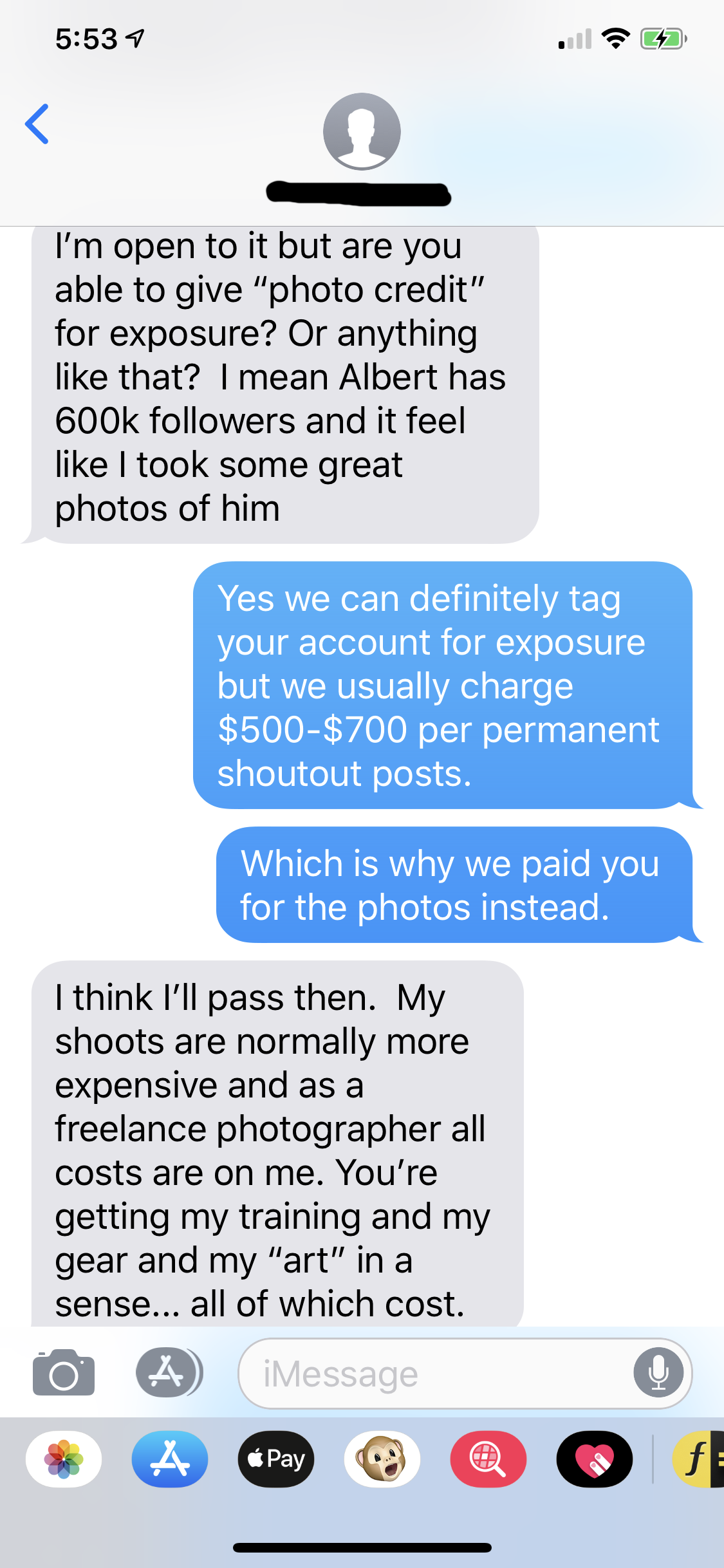 How I'm Getting Scammed by Photographers - Christine Look