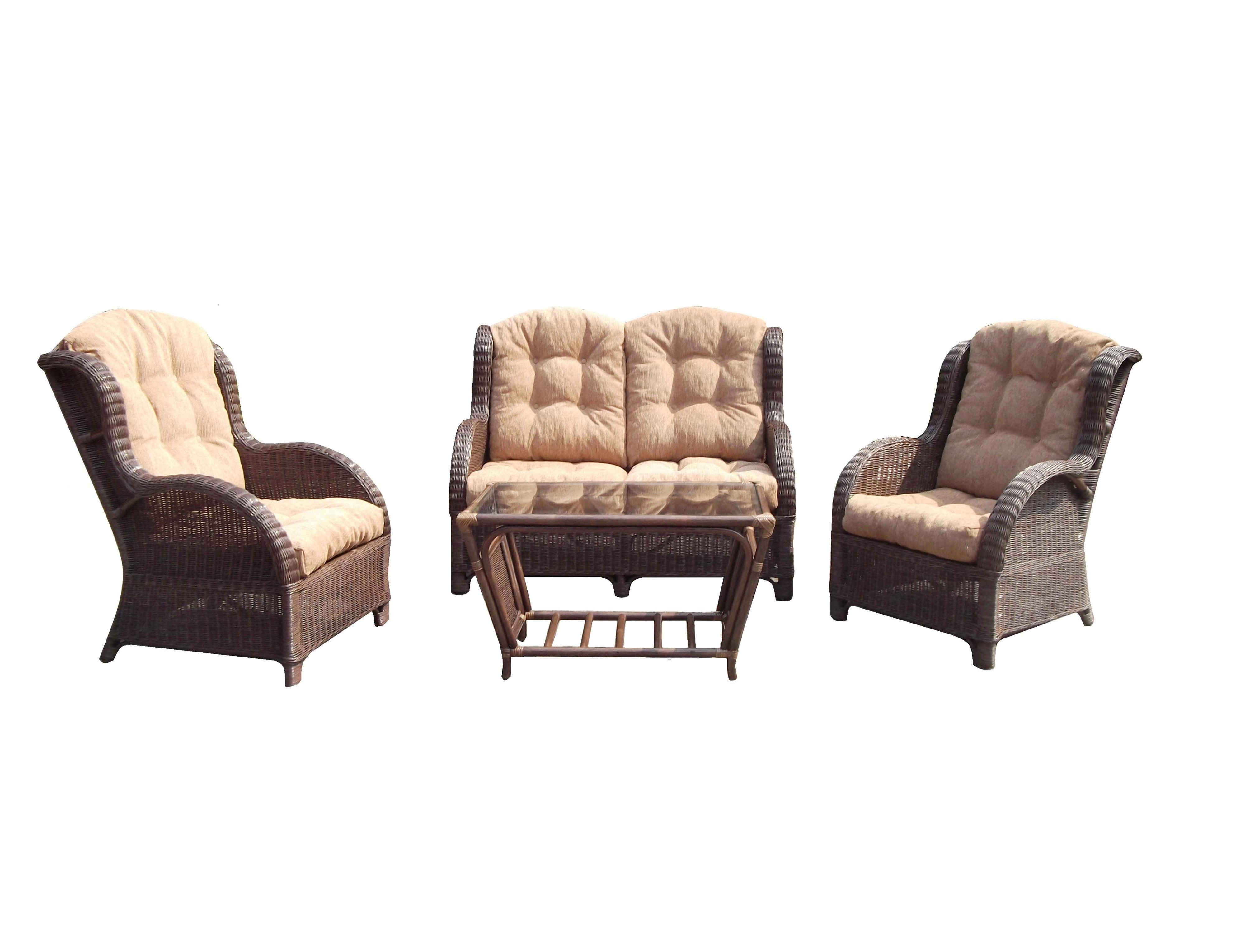 Rattan Chair Cushions For Your Small Space Living Room