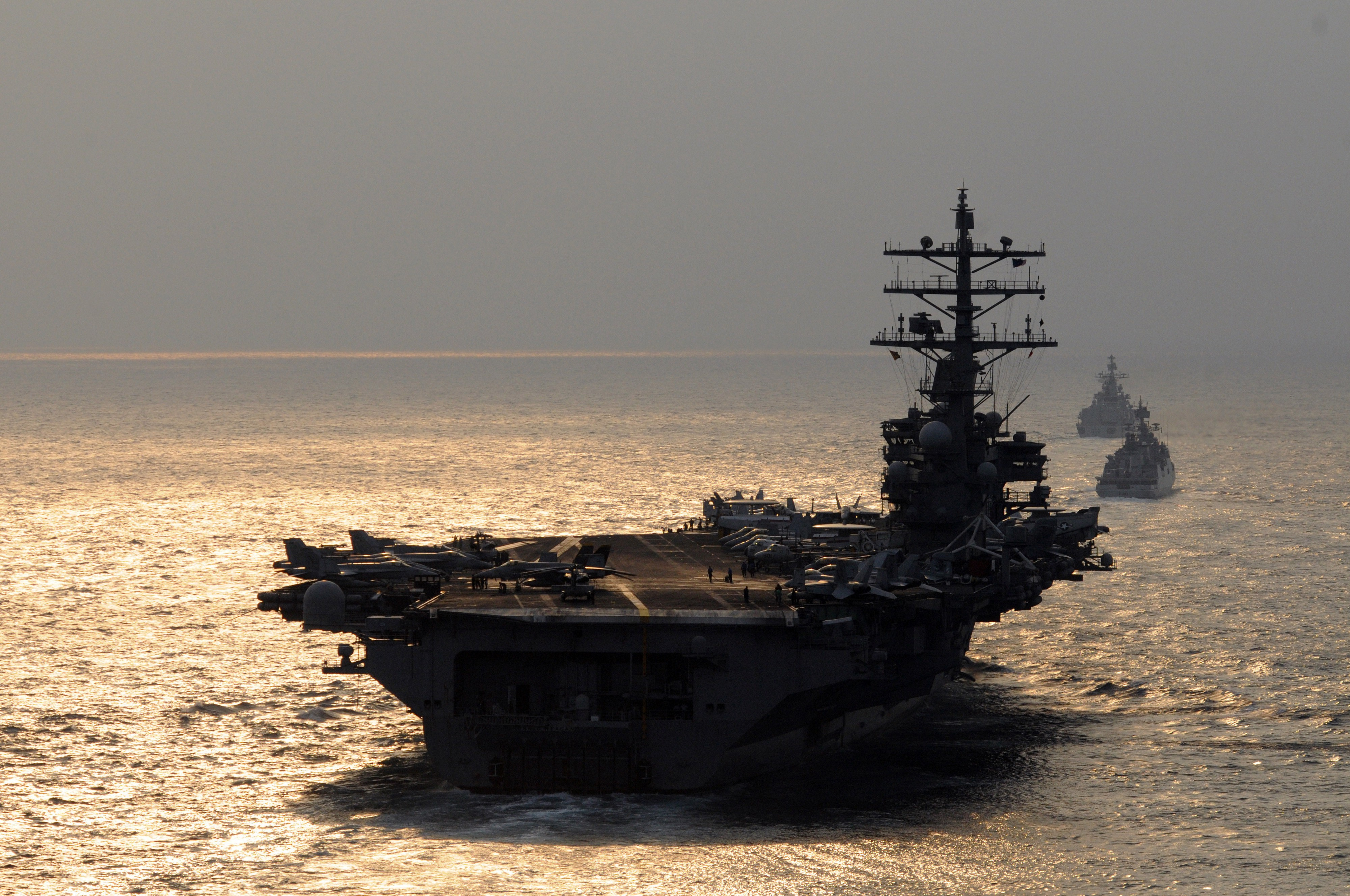 The U S  Navy's Big Mistake — Building Tons of Supercarriers