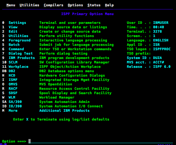 Hello World on z/OS - Marianne Bellotti - Medium