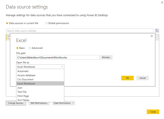 Changing Source Type in Power BI - Capax Brainpower - Medium