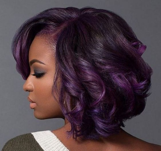 Weave hair color