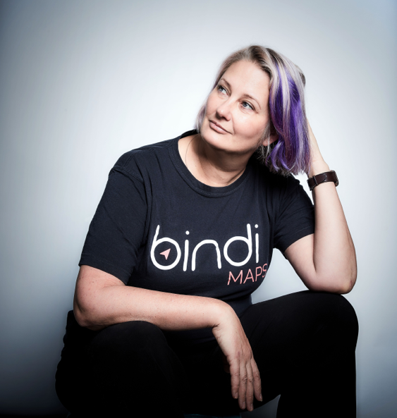 Anna Wright, Co-Founder of BindiMaps