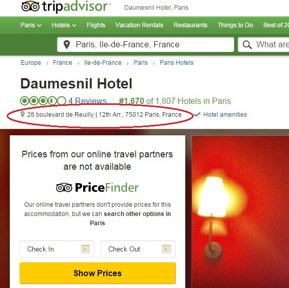What You Don't Know About TripAdvisor - Choking on a Macaron
