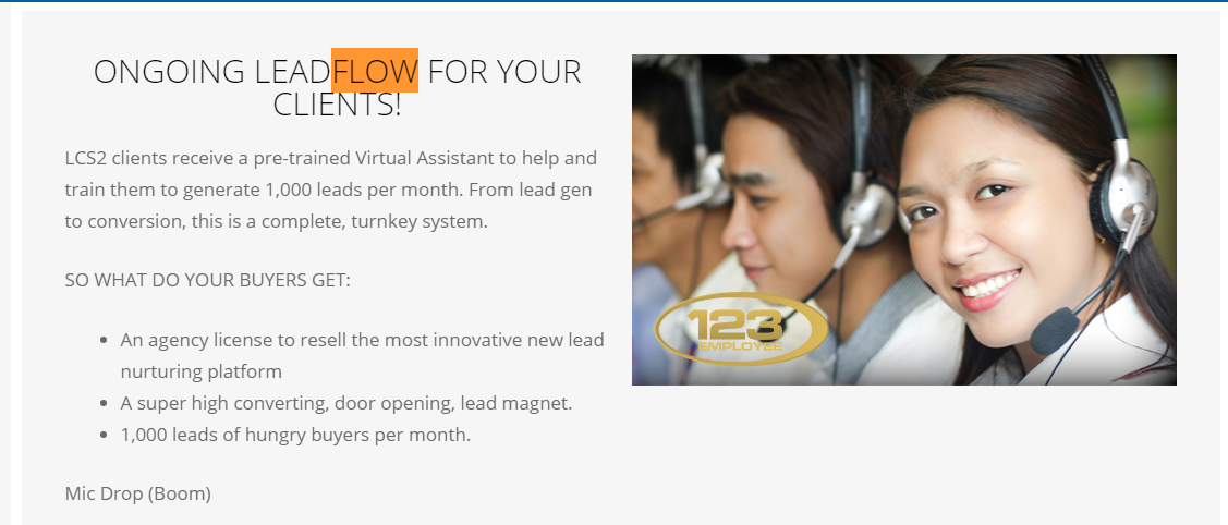 Lead Conversion Squared (LCS2): Ongoing Leadflow for your Clients!