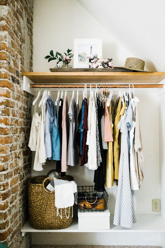 Open Sesame Why You Should Embrace The Open Clothing Storage Trend