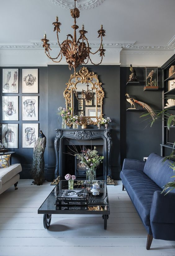 How To Decorate Your Walls In Gothic Decor Style By Skull Bedding Sets Medium