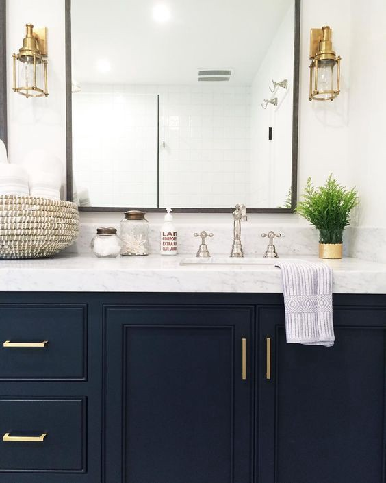 Power Couple Decorating With Blue And Gold By France Son Medium