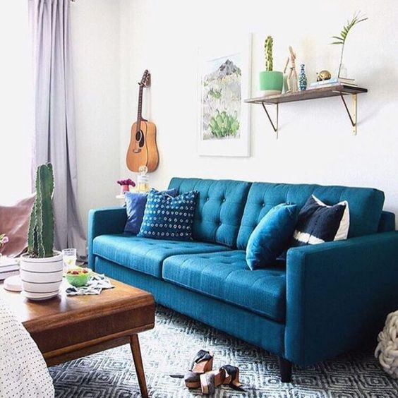 Grey Sofa White Walls: Humble Hues: The Five Best Colors For Sofas