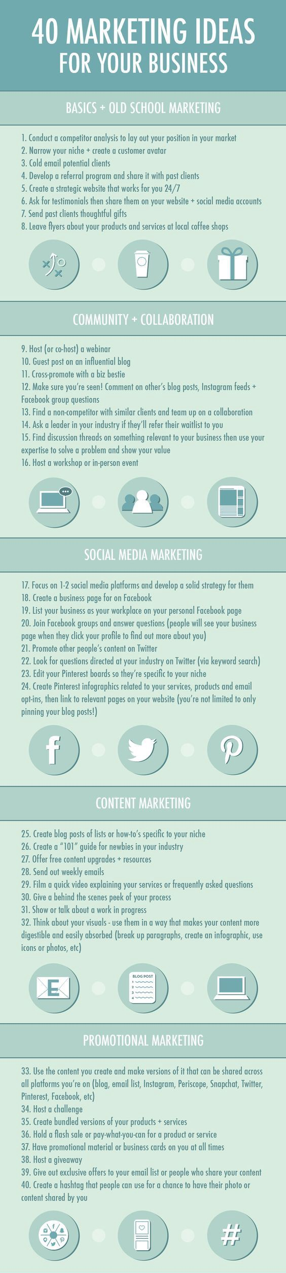 40 Marketing Ideas For Your Business - Travis Beauchesne