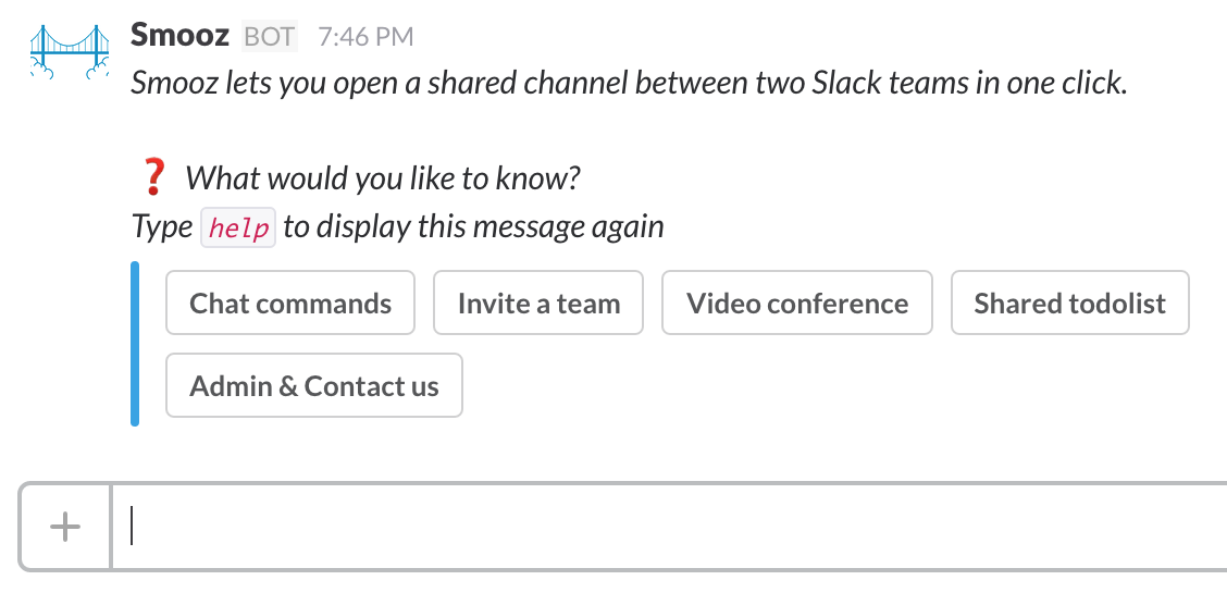 Better Slack app UX with buttons - Smooz Blog