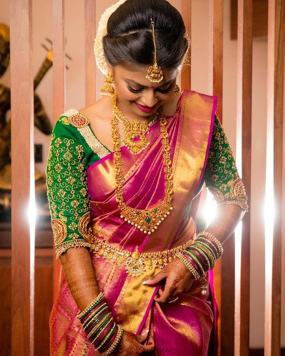 Best 18 Kanchipuram Silk Sarees For Wedding Kanjivaram