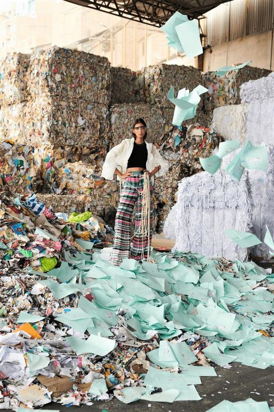 Why embrace fashion minimalism? Because 3.8 billion pounds of non-decayable textile end up in landfills each year.