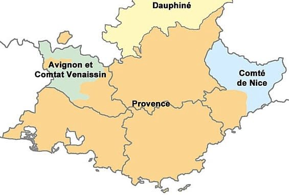 The Provence and Avignon: the southeastern corner of Francia where the interests of Charles Martel and the caliph clashed.