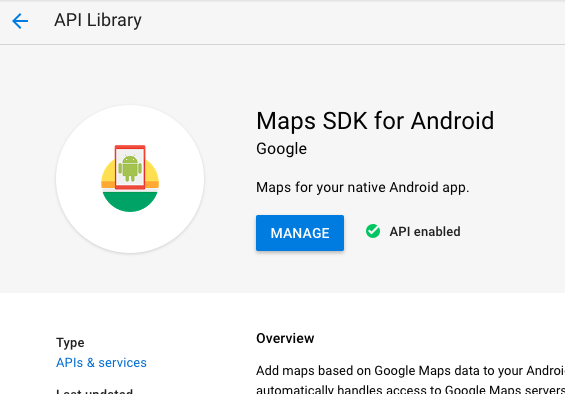 Building Android Landmark App with AWS Amplify, Google Sign