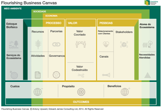 The flourishing business canvas