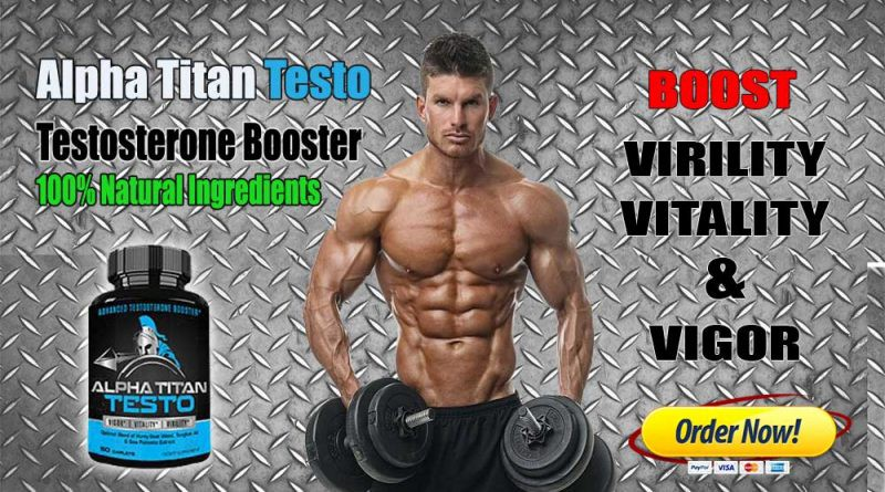 Alpha Titan Testo — *Must* Read Review Before Buy - Alpha