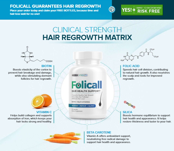 Folicall Hair Health Support — Follical Hair Growth Formula Reviews! Price  | by Rilliam Affery | Sep, 2020 | Medium