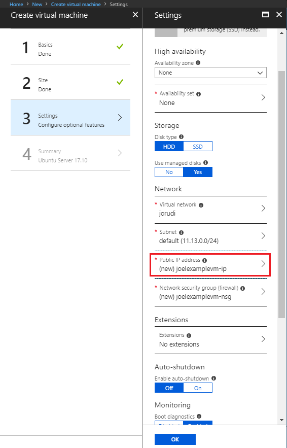How to: SSH to your Azure Linux VMs with username and