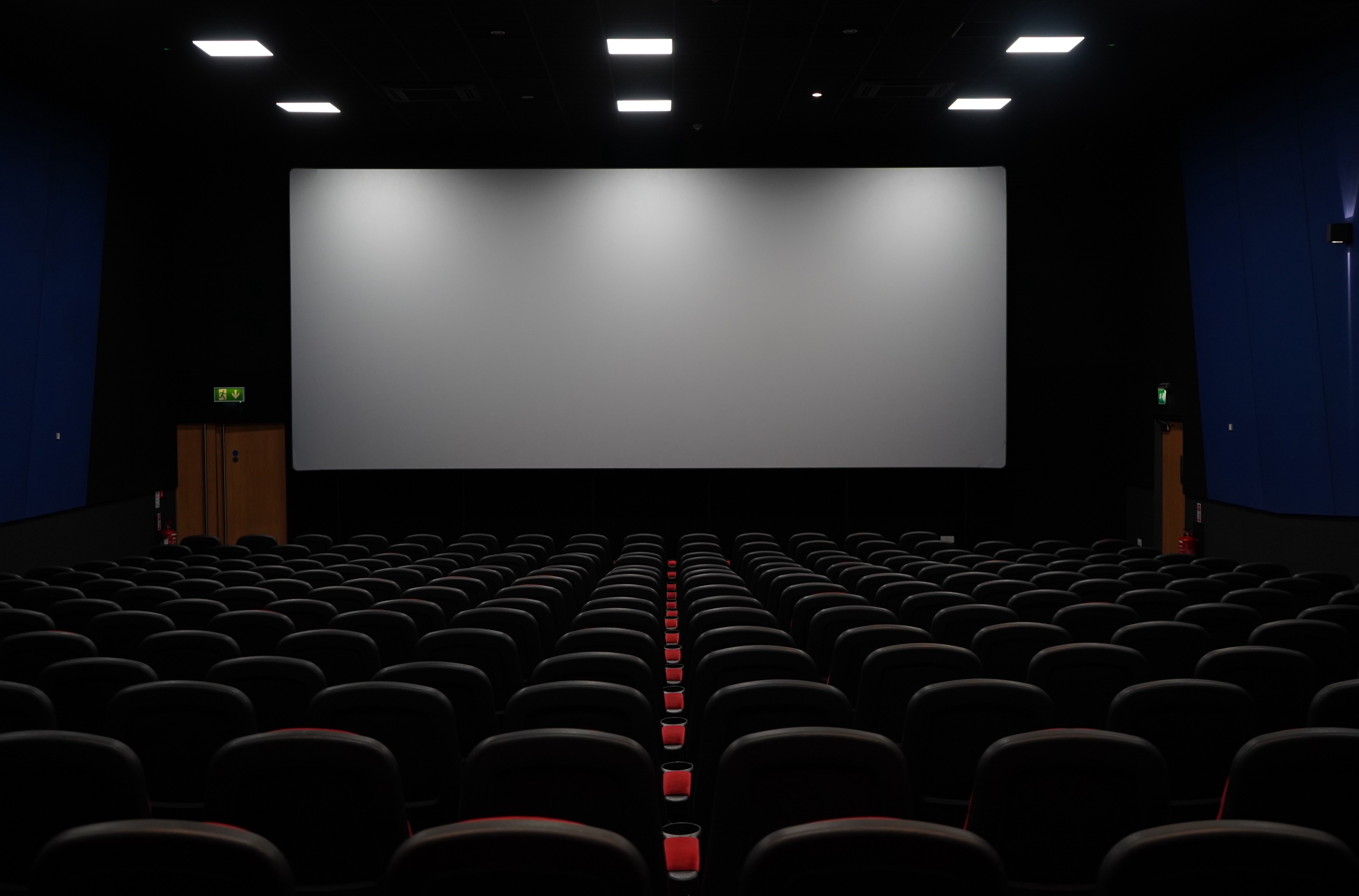 Mark Wahlberg Movies: Empty Theater