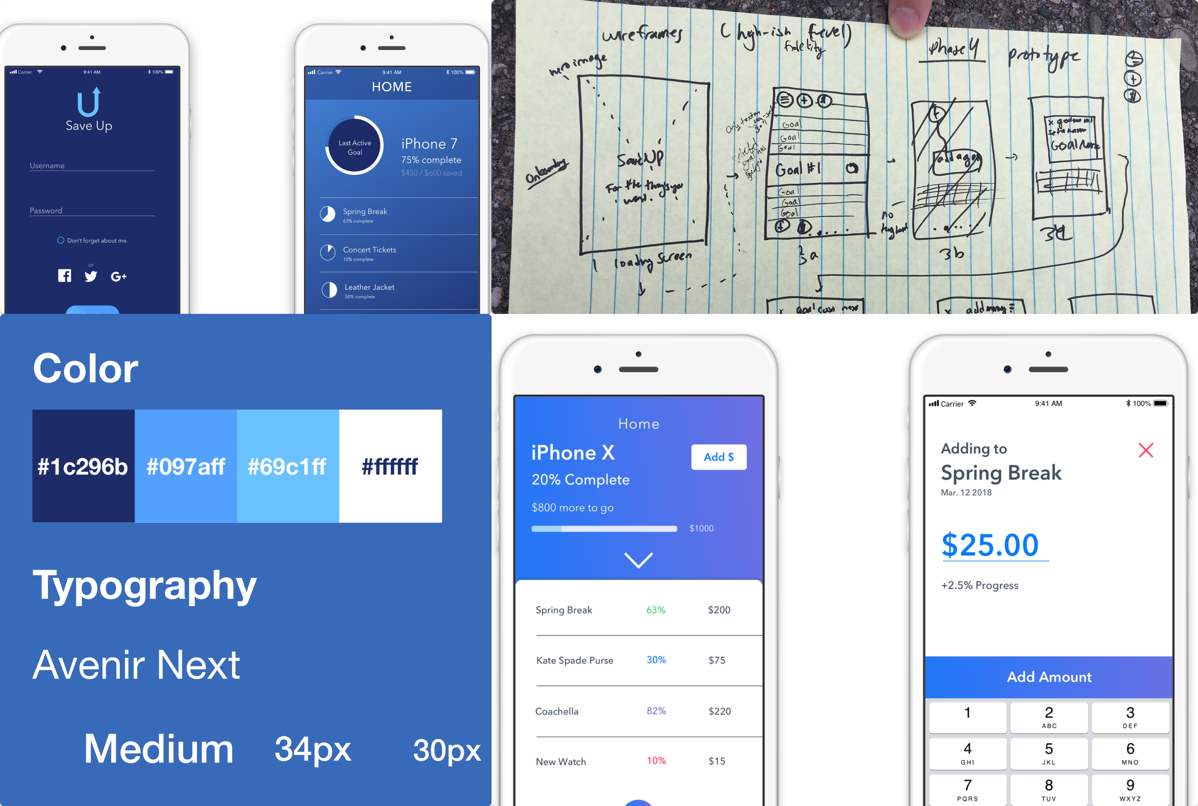 Creating A Savings App A Ux Case Study By Alex Heidarian Ux Collective