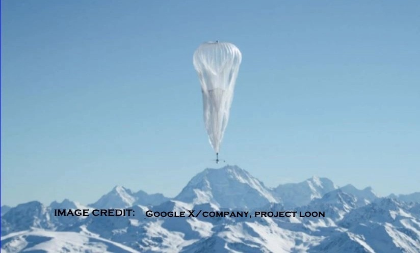 Google floated a balloon during the Puerto Rico and U.S. Virgin Islands to provide internet service. They have worked all ove