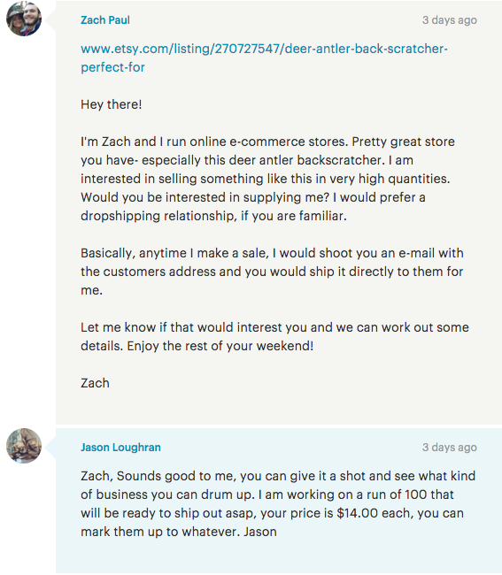 How to Professionally Approach Etsy Sellers To Resell Their